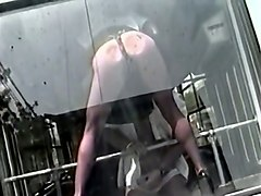 filthy and busty blondie licked and fucked in the bus