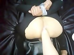 Femdom and fisting   punch slave