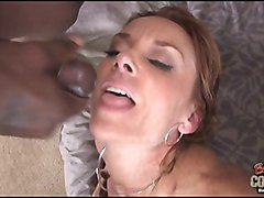 White mature wife Janet Mason cheating her hubby with BBC
