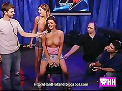 Howard Stern 2 Britisch girls ride the sybian naked