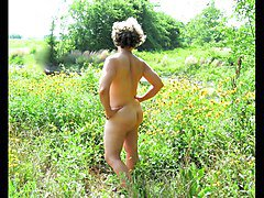 Mature Nude Female SS Models Her Birthday Suit ( Nakedness)