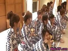Crazy Japanese Chicks And Hot Orgy Part6