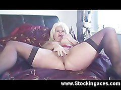 Sexy British Wife Fucks On Video While Hubby at Work