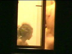Huge dicked neighbour caught on window 5