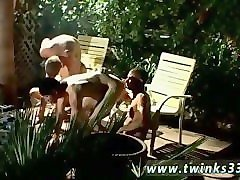 male gay twink mobile video these 4 men smoke rigid and pulverize even