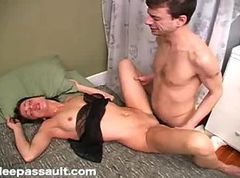 Sleeping Teen Gets Pounded