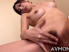 japanese wife gets her pussy fucked by a fat old man