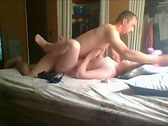 amateur couple on their first sex tape segment