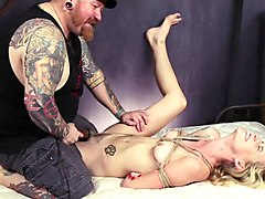Sadistic Rope Bondage: Painful Rope Play