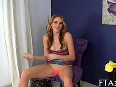 big tits babe gets slammed by milf hunter levi cash