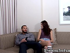 Britney Amber,Wolf Hudson in Pegging - A Strap On Love Story #02, Scene #02