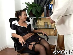 mature japanese woman and younger guys