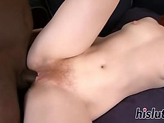 Amateur homemade - Busty amateur MILF sucks and fucks -.