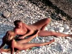Hidden camera on the beach 7