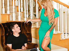 Alyssa Lynn & Brad Knight in Mom's A Pool Boy Addict: Part Two - TrickySpa