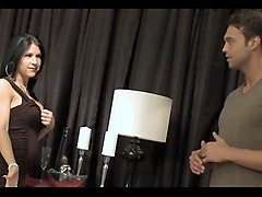 intense interracial session starring stacked alexis silver