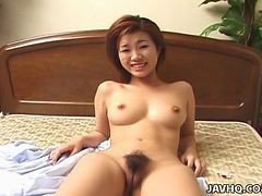 Young Japanese Teen Rides A Hard Cock Uncensored