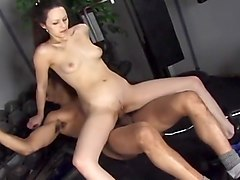 Horny Couple Fucking At The Gym