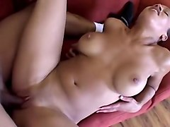 Sexy Ebony Gets Fat Black Cock