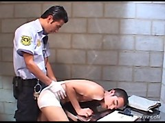 young latino cuffed and fucked