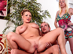 Vicky Vixen,Tegan Riley in My Wife Caught Me Assfucking Her Mother #03, Scene #01