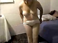 my shamelessly exhibitionistic wife gets naked any chance she gets