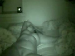 filming my chubby wife when she is sleeping naked
