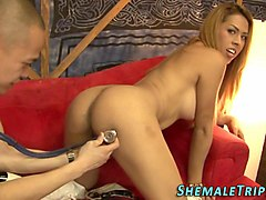very hot shemale fucks and gets fucked hard