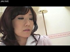 sweet looking japanese wife is ready to get freaky with a young man