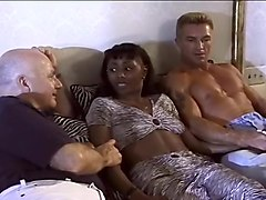 Horny Black Wife Mrs J Howard Fucks Two White Studs